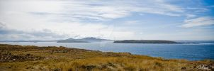 Falkland- overlooking Rat Isle by falklands89