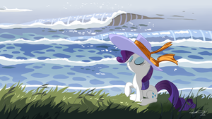The sea breeze cool by AmethystHorn