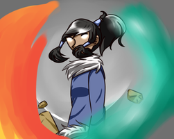 I'm the Avatar so deal with it! by CreeperTier