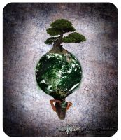 The world in our hands by NiveumDiabolus