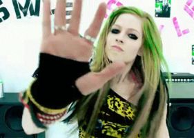 Avril, Smile gif 06 by nishux