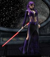 Purple Sith by Lady-Morana