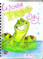 world frog day by PoOkiePix