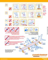 Safety Card Conviasa - Back by l0nd0n