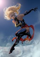 Ms Marvel by davidyardin