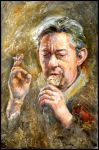 Serge Gainsbourg by jbillustration