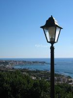 Lamp-post in the sky by Graziola