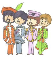 Sgt. Peppers Lonely Hearts Club Band by iamtheableh