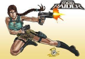 Lara Croft Tomb Raider Miscellaneous, commission by wayner8088