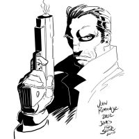 The Punisher by JR JR my Inks by JamesLeeStone