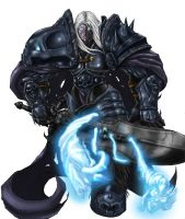 Arthas the Murderer Colored by Kanahele