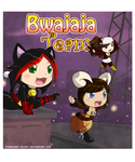 Commission :Bwajaja Team: by PEQUEDARK-VELVET