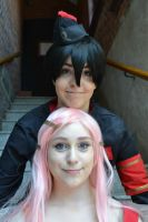Eureka 7 - Dominic and Anemone by gotaluvpenguins