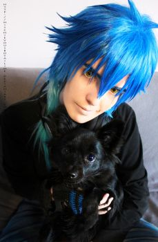 DRAMAtical Murder : Aoba and REN cosplay by MischievousBoyAilime