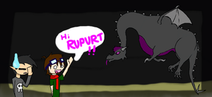 Rupurt the ender dragon by PenelopeXdg