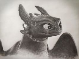 Toothless by GoldenWerewolf