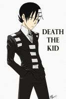 First drawing of Death the Kid by Ichigowolf1410