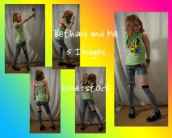 Bethany and Me 2 by kime-stock