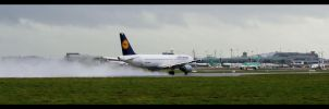 Lufthansa Take Off by disasterdesigner