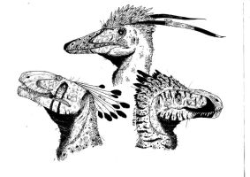 Raptor's Heads by Smnt2000