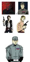 Misc Star Wars Characters by stourangeau