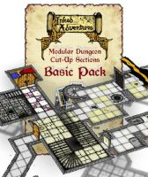 Revised graphic for  Modular Dungeons Basic Pack by billiambabble