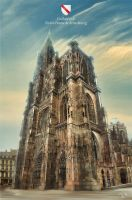 Cathedral Strasbourg by xa1nx