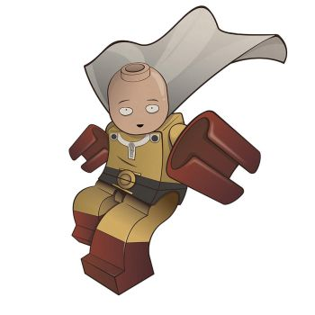 Lego One Punch Man by The-Cosmic-Kid