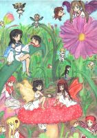 Fairies and Flowers 2.0 by Mikakitty24217