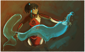 Legend of Korra, Fire Ferret by ditto9