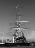 Tall Ship Balclutha, San Francisco by artamusica