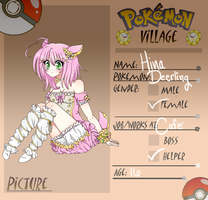 PokemonVillage app: Hina by HibikiChi