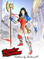Wonder Woman Custome 2012 by Chalana87