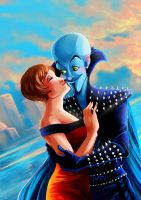 CC: Roxanne and Megamind by MistyTang