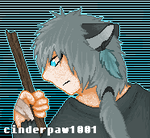 Human Jayfeather by cinderpaw1001