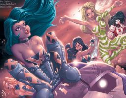 X-Women ATTACK by PatCarlucci