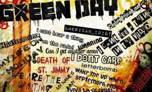 Green Day Wallpaper by rope1436