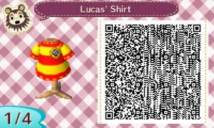 Lucas' Shirt QR Code by StarmanPhantom