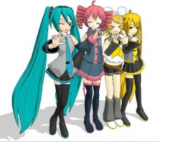 Friends forever by Hatsune-Miku01