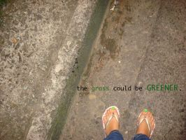 The Grass Could Be Greener by flamable77