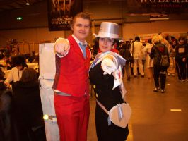 Trucy + Apollo Cosplay by Kiira-Chan92