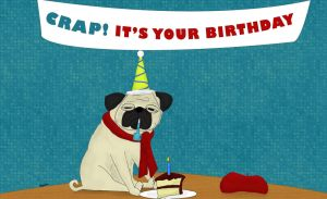 Crap It's your birthday by surlana