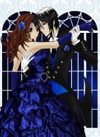 Her Butler - Midnight Dance, Ember and Sebastian by LibertyBella