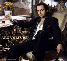 Aro Volturi: Hot Italian Vamp by Nirellie