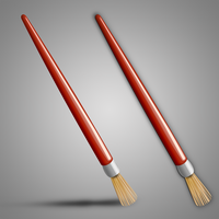 Brush Icon by 82webmaster
