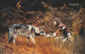 She tamed the Wolf by RaphaelleM