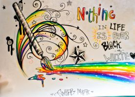 Rainbow Paintbrush by MoterPants