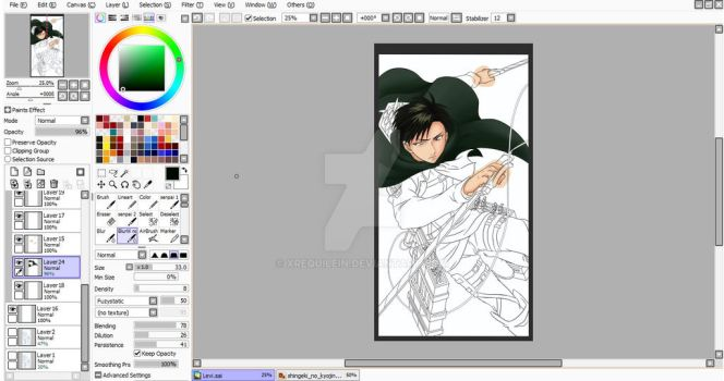 Levi Wip 2 by xRequilein