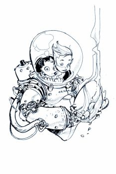 SPACE SUIT by EricCanete