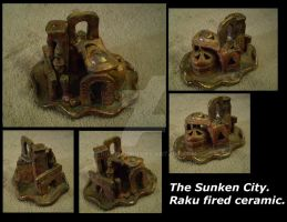 Sunken City Ruins -Raku- by CrowMaiden